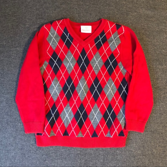 Hanna Andersson Other - Hanna Anderson Boys Argyle Sweater